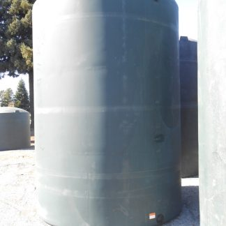 "5,000 Gallon Green Plastic Water Storage Tank 102""D x 157""H-0"