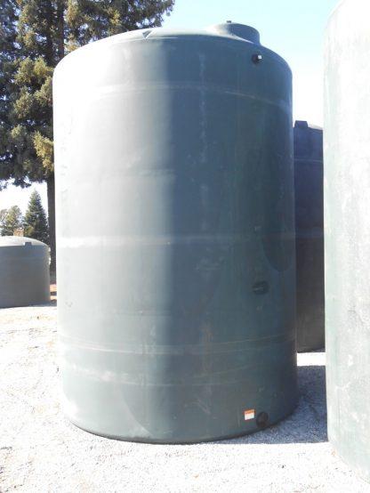 "5,000 Gallon Green Plastic Water Storage Tank 102""D x 157""H-0"