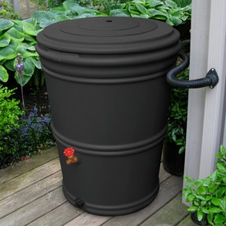 60 Gallon Rain Barrel - recycled