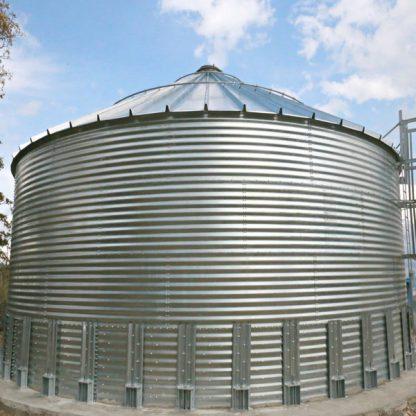 SteelCore Galvanized Water Storage Tank - 2 Stfnrs - J Rib 30 Degree Roof-5717