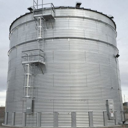 SteelCore Galvanized Water Storage Tank - 2 Stfnrs - J Rib 30 Degree Roof-5719