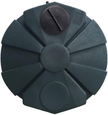 "4,050 Gallon Poly HDPE Water Tank 102""D x 129""H-6270"