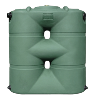 "265 Gallon Rain Harvesting Slimline Tank 25""D x 64""H x 59""L-0"