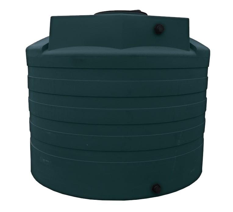 "2,650 Gallon Poly HDPE Water Tank 102""D x 80""H"