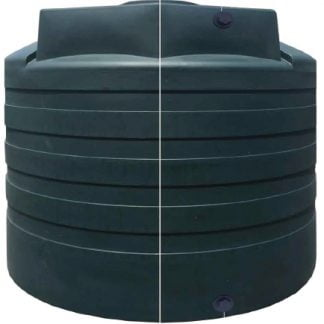 "2,650 Gallon Poly HDPE Water Tank 102""D x 80""H-0"