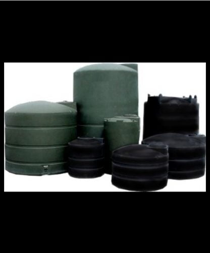 "550 Gallon Plastic Water Storage Tank 64""D x 46""H-0"