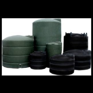 Polyethylene green black water storage tank